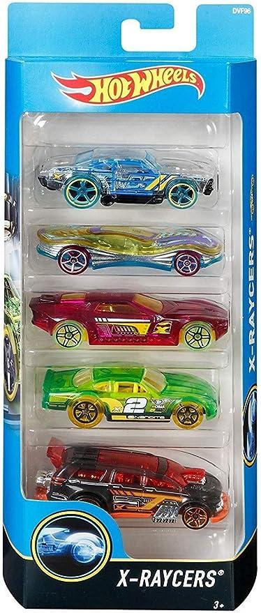 Wheels Pack temático de Coches de Hot Basis: 1 Paquete de Temas de 5 Coches, Que se envían al Azar.: Amazon.es: Juguetes y juegos