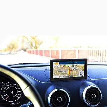 GPS Coches para Camiones 7 Pulgadas Camión Navegador Sat Nav Mapa Europa Actualizaciones de Toda la Vida- Negro: Amazon.es: Electrónica