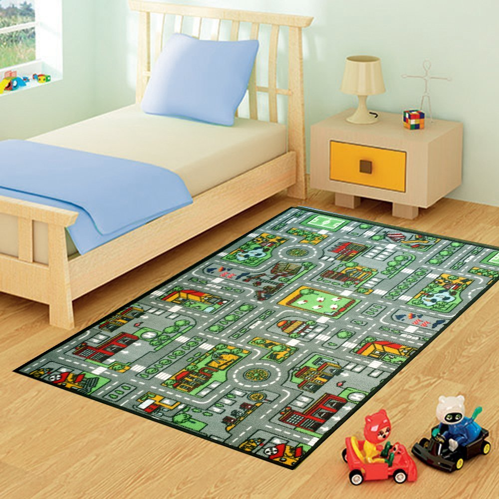 A2Z 4 Kids® Childrens Large Play Mats. Size 80cm x 120cm (Farmyard) Rugs Supermarket