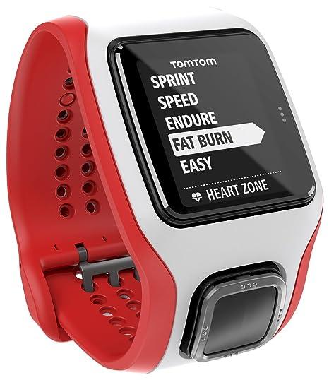 43ddb33e615874 TomTom Runner Cardio Orologio GPS con Cardiofrequenzimetro Integrato, per  Corsa Outdoor e Indoor, Rosso