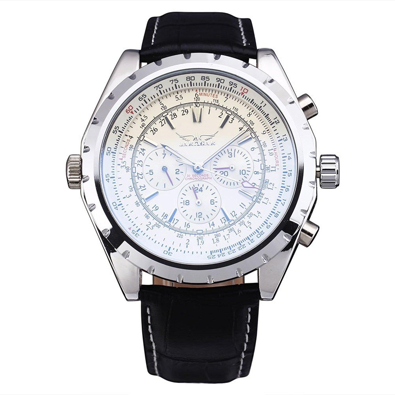 JARAGARファッションカジュアル腕時計メンズオスビジネススケルトン時計自動機械スポーツMilitary Army Luxury Wrist Watchesギフト 2# B071JQ6L3G 2# 2#