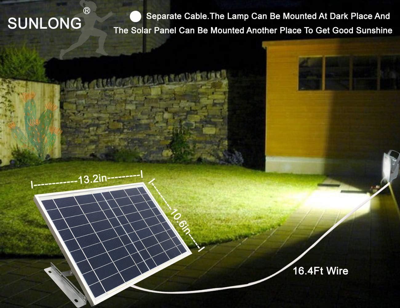 52LEDs Solar Powered Light Garden Outdoor light Flood Yard Lawn Wall Spot Lamp
