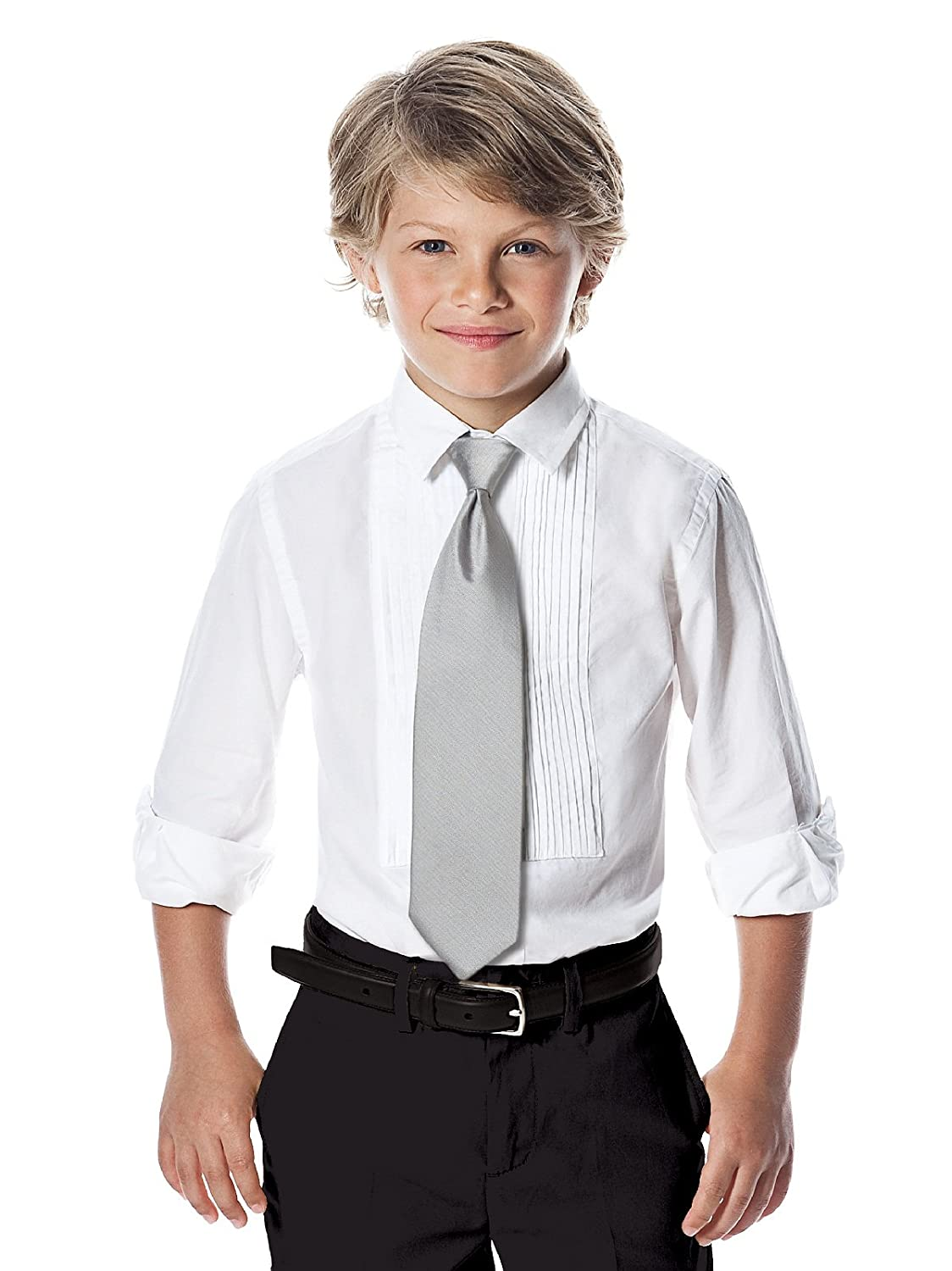 Boys Paragon Jacquard Slider Tie by After Six from Dessy Appletini