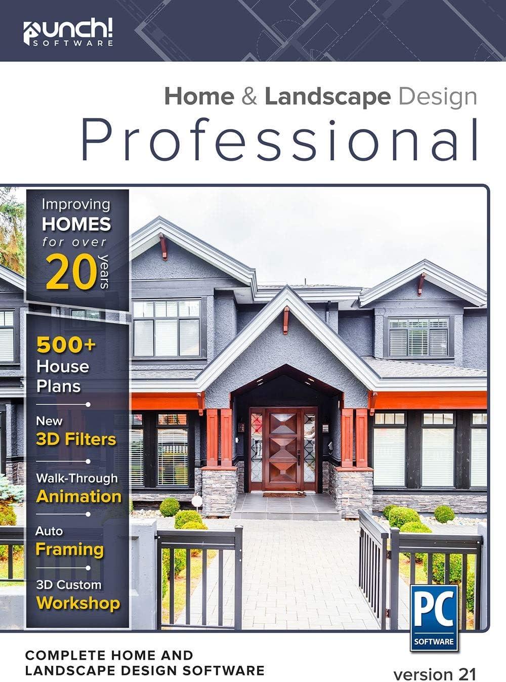 Punch! Home & Landscape Design Professional v21 - Windows [PC Download]