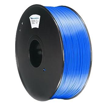 Surreal ABS filamento 1.75mm para impresoras 3D - 1KG carrete - Azul