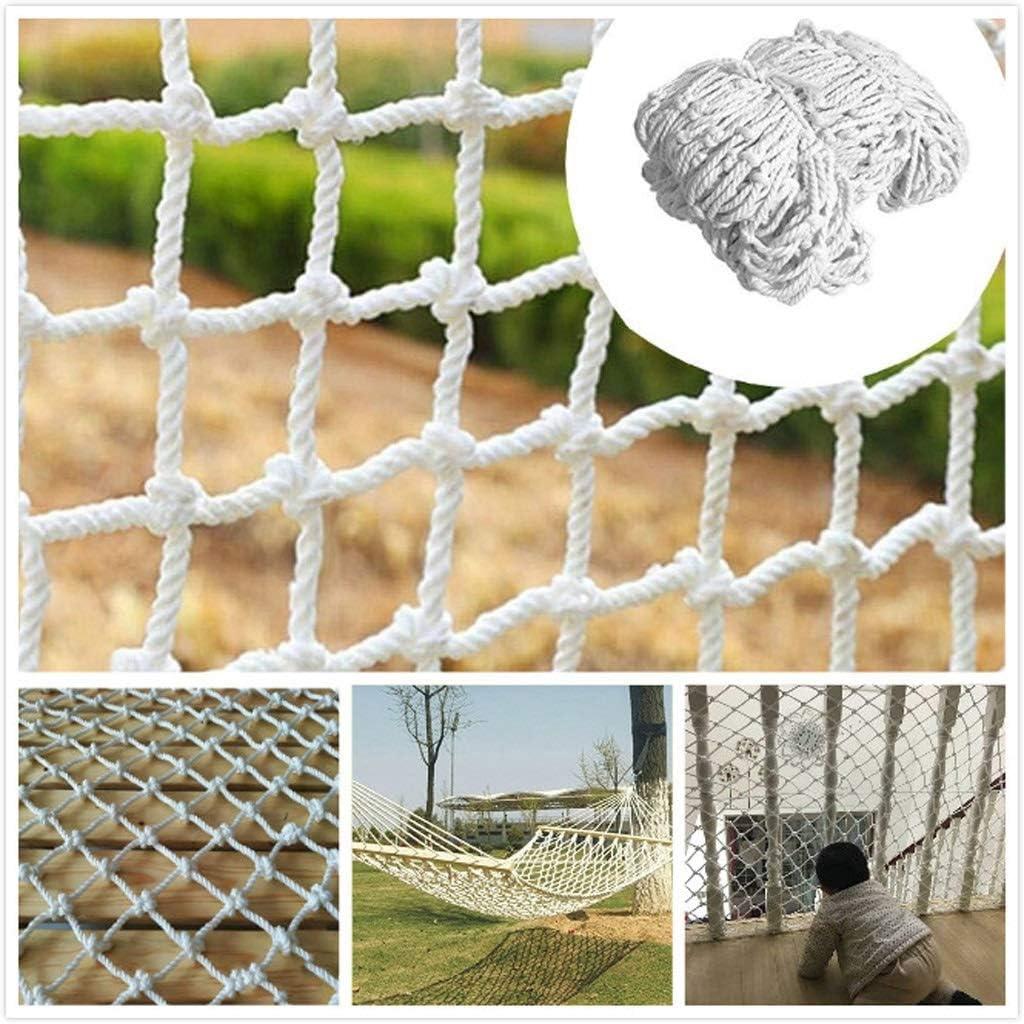 Gpzj Red de Escalada Protectora de Seguridad Infantil Blanca, Red de protección de Barrera para Mascotas para Gatos Desmontables Red de Seguridad para Balcones y escaleras: Amazon.es: Deportes y aire libre