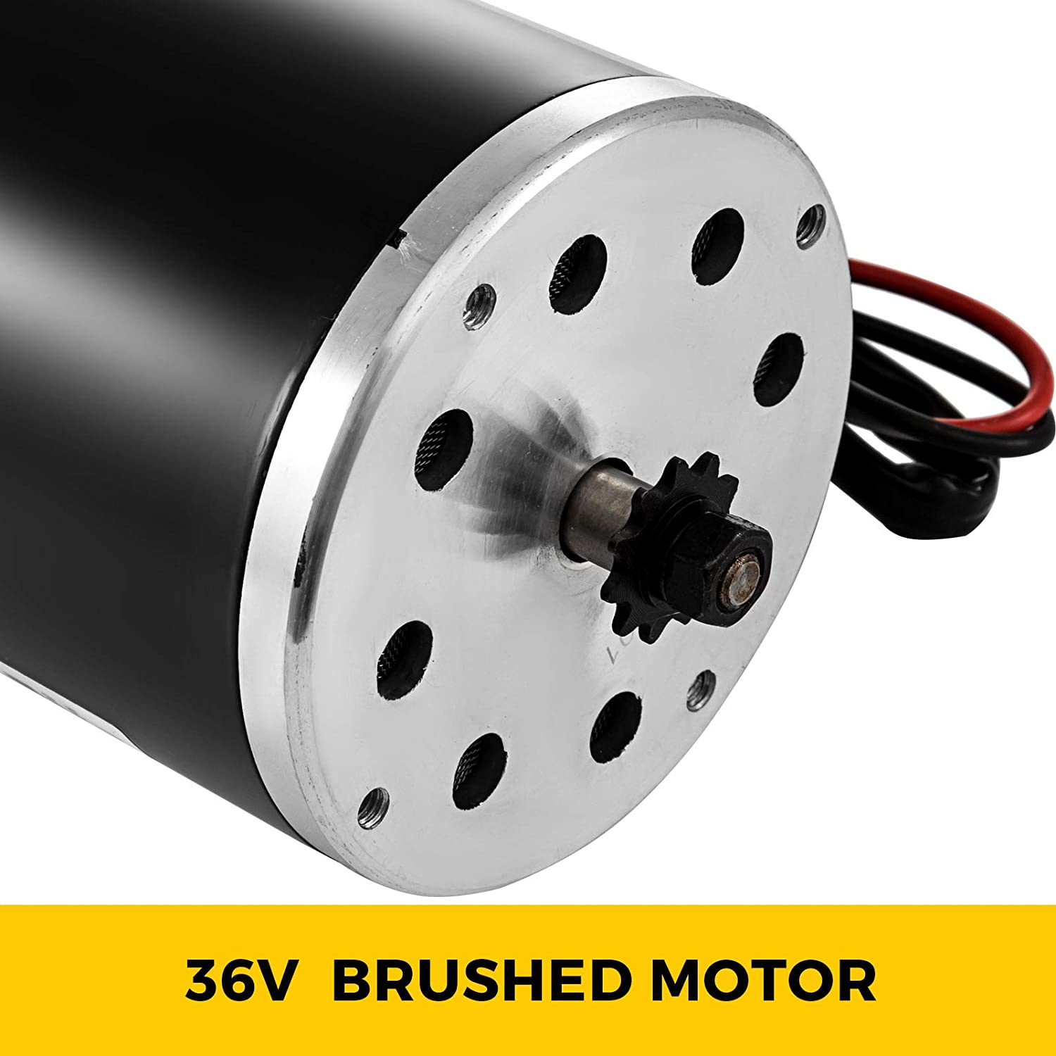 Amazon.com: Mophorn Electric Brushed Motor 36V DC 800 Watt ...
