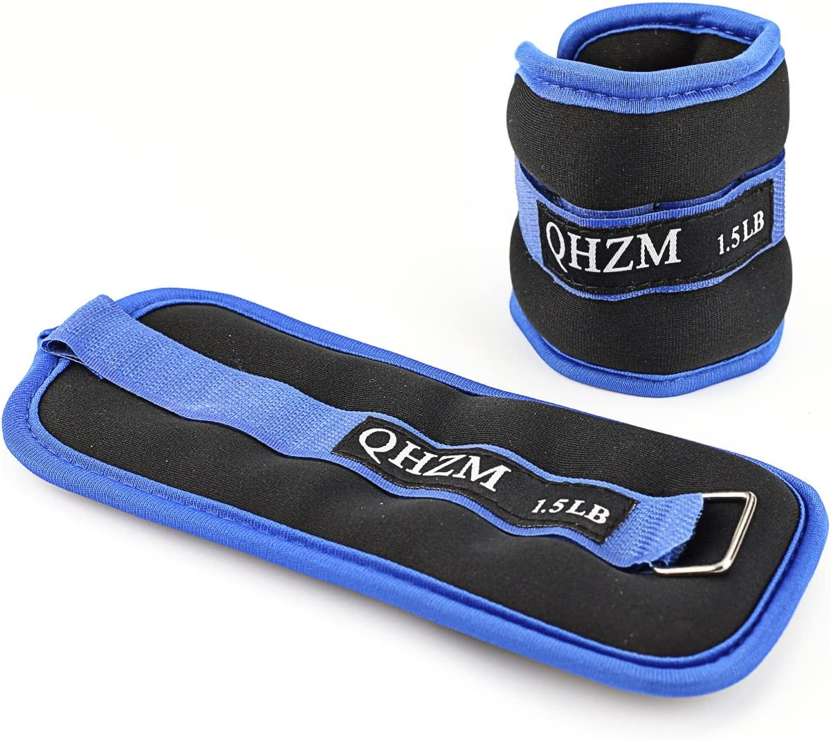 FFFFFFT Adjustable Ankle Weights for Women and Men, Leg Wrist Thigh Exercise Weight for Gym Walking, Jogging, Aerobics Recovery Training Fitness Protection