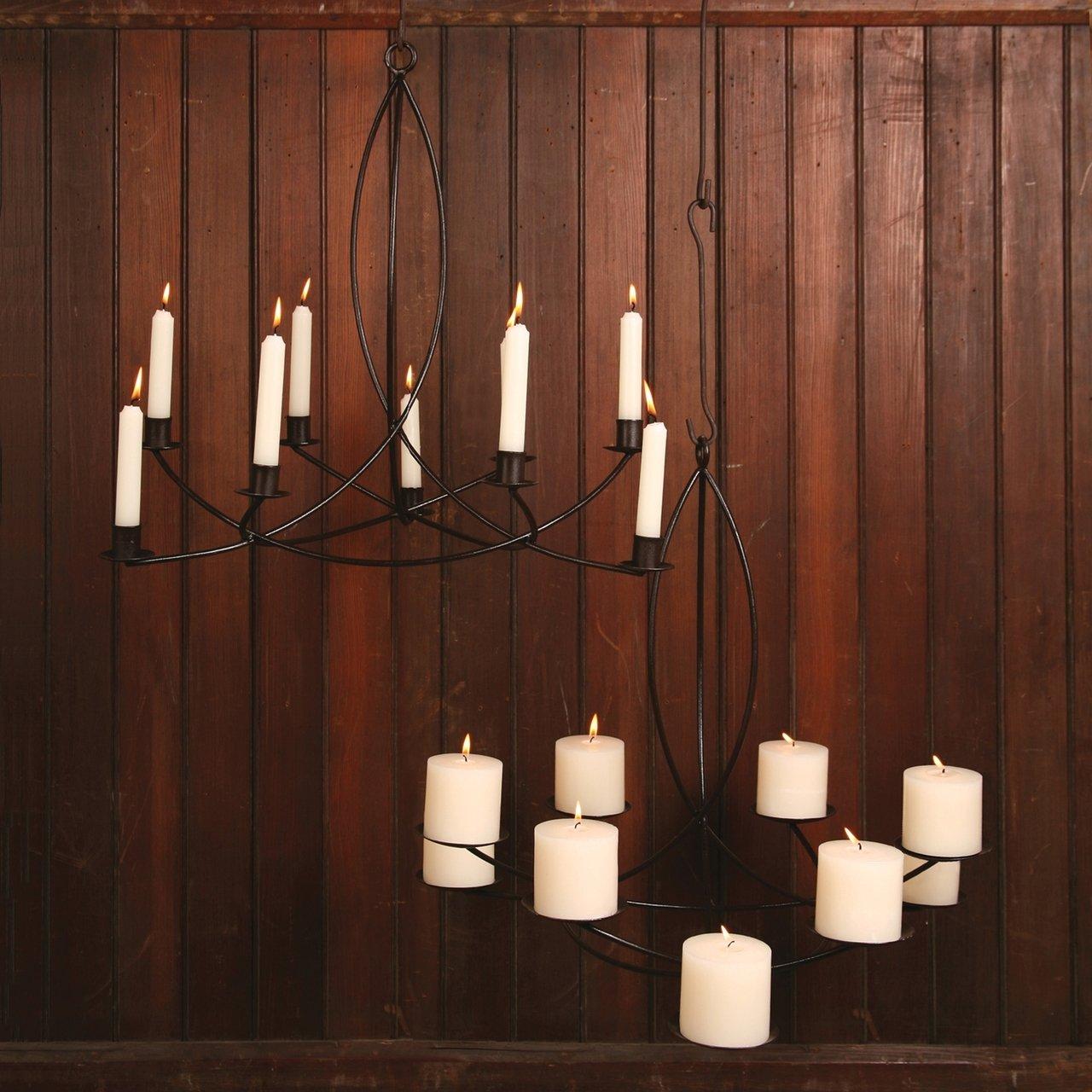 Liliane Candle Chandelier - Taper by Intelligent Design