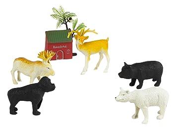 Salvajes15 Colorbaby 21 Bolsa Animales X Con Cm37153Amazon 34RqS5jLAc