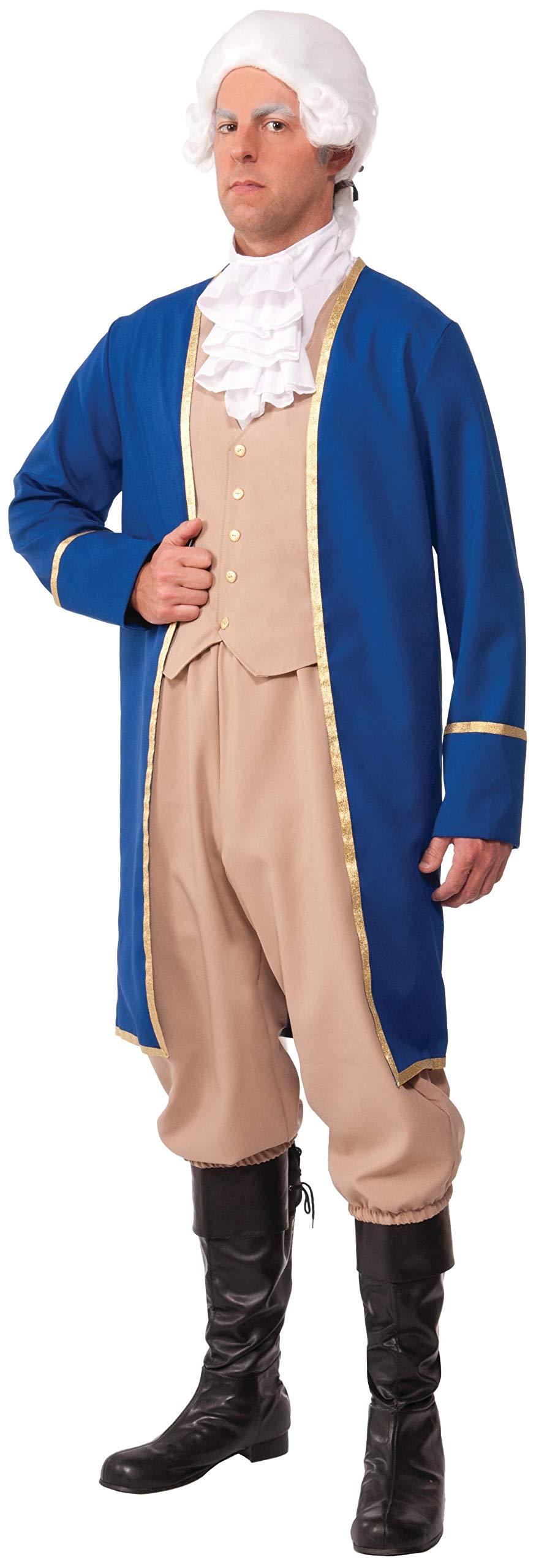 Forum Novelties Men's George Washington Deluxe Costume, Multi, Standard by Forum Novelties