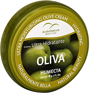 Andes Nature Ultra-moisturizing Olive Cream, 5.12 oz (Pack of 4)