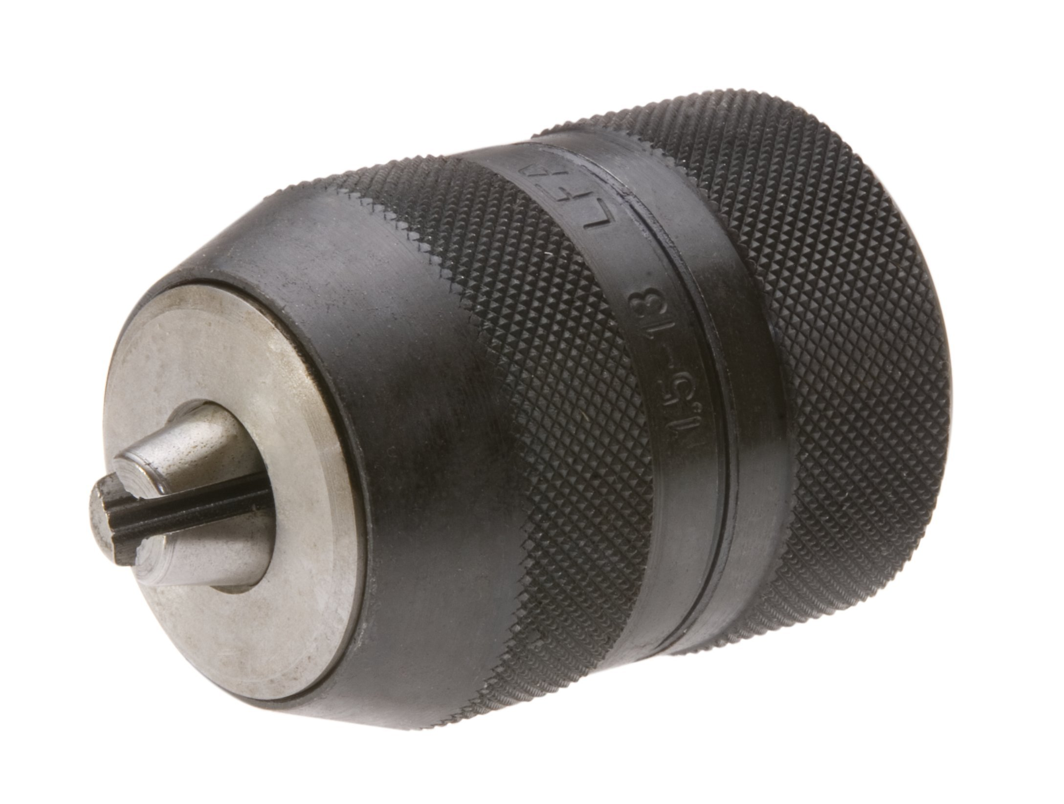 LFA Industries 520-2JT 0-3/8-Inch -.5-10 mm Capacity, 2 Jacobs Taper Mount Keyless All Steel Ball Bearing with Super Holding Drill Chuck
