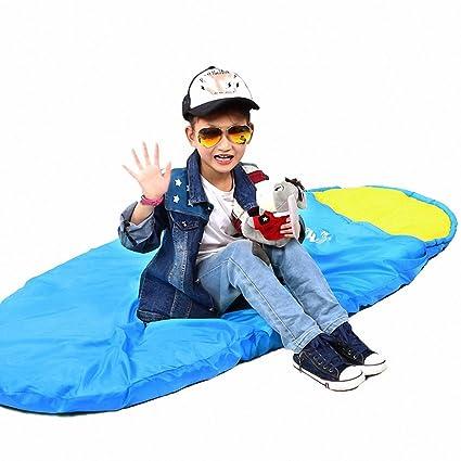 zhudj niños sacos de dormir al aire libre primavera y verano Otoño cálido Wild Camping sacos