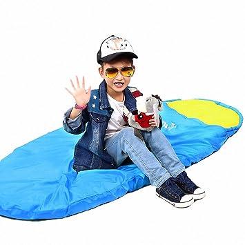 zhudj niños sacos de dormir al aire libre primavera y verano Otoño cálido Wild Camping sacos de dormir estudiante almuerzo Bolsas Sacos de dormir, ...