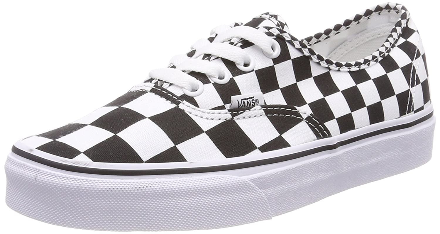 Vans Unisex-Erwachsene Authentic Sneaker  40 EU|Schwarz (Mix Checker)