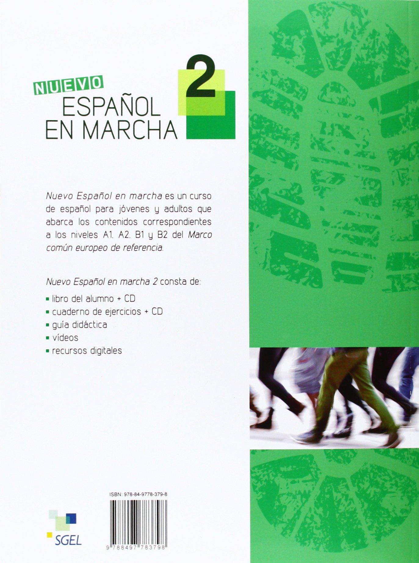 Nuevo Español en marcha 2 ejercicios + CD: Amazon.es: Francisca ...