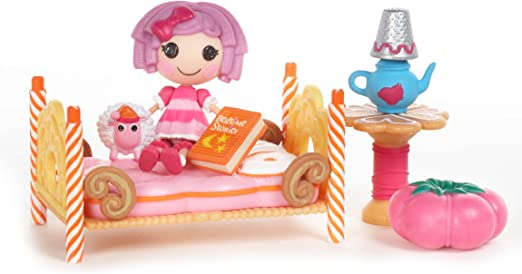 Mini Lalaloopsy Playset- Pillow's Sleepover Party