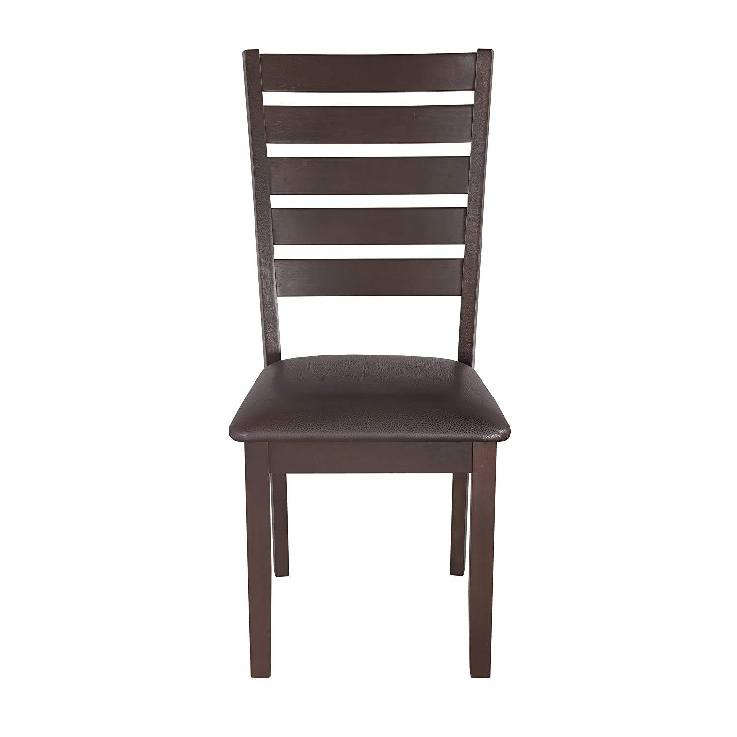Primo International 10909 William Traditional Height Dining Chair, Cocoa and Cedar