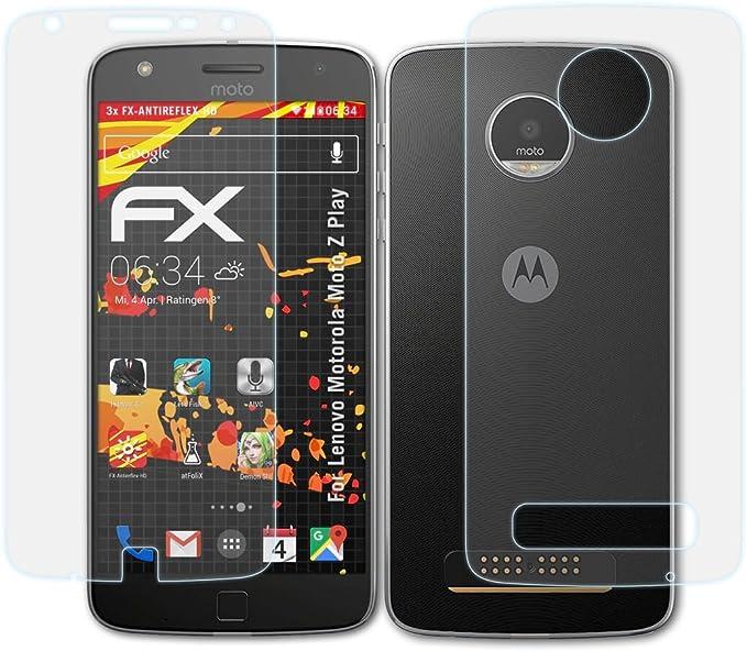 atFoliX Protector Película Compatible con Lenovo Motorola Moto Z ...