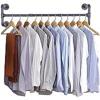 KSUDE multifuncional para pantalones de acero inoxidable 5 en 1 plegable y telesc/ópico Perchero telesc/ópico plegable de varias capas almacenamiento de varios capas