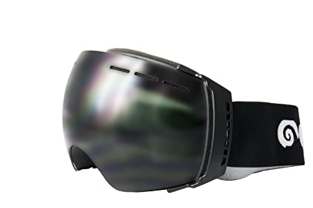 Ocean Sunglasses Aconcagua - Masque - Monture : Noir - Verres : Fumée (YH-3501.0) kKC04Oub