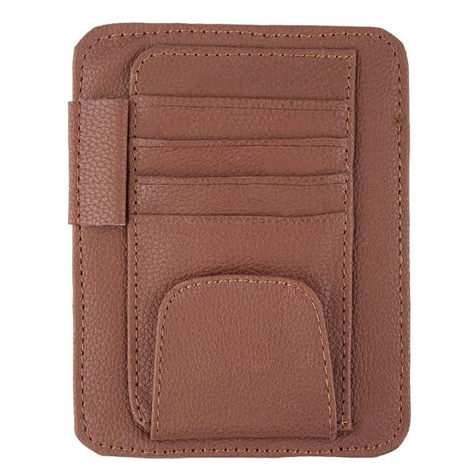 2 opinioni per MYTK-Visiera per occhiali da sole Clip Clip porta carte e cinturino con Velcro