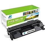 AZTECH 1 Pack 2,300 Pages Yield Black Compatible Toner Cartridge Replaces HP 05A CE505A CE505 For HP LaserJet P2030 P2035 P2035N P2050 P2055 P2055D P2055DN P2055X