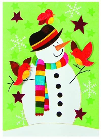 Amazon.com: The Gift Wrap Company Snowman and Friends Boxed ...