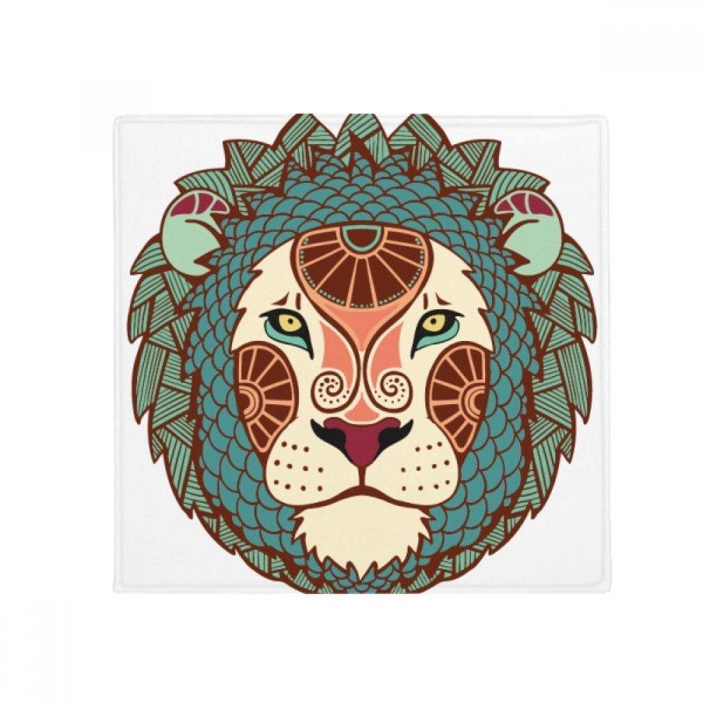 DIYthinker Leo Constellation Zodiac Symbol Anti-Slip Floor Pet Mat Square Home Kitchen Door 80Cm Gift