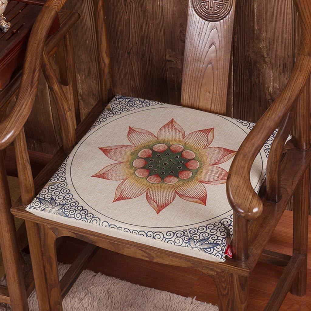 Huertuer Cuscino del Sedile, Cuscino Cuscino per Sedia da Ufficio Cuscino per Sedia da Computer Studenti Cuscino più Spesso Cuscino Invernale Cuscino per Sedia da Pranzo (Dimensioni  40  40cm)