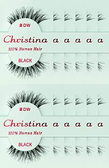 12 Pack of Christina DW Eyelashes