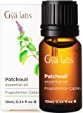 Gya Labs Patchouli Essential Oil For Stress Relief, Relaxation & Sleep - Topical Use For Acne & Dry Skin - Reduce…