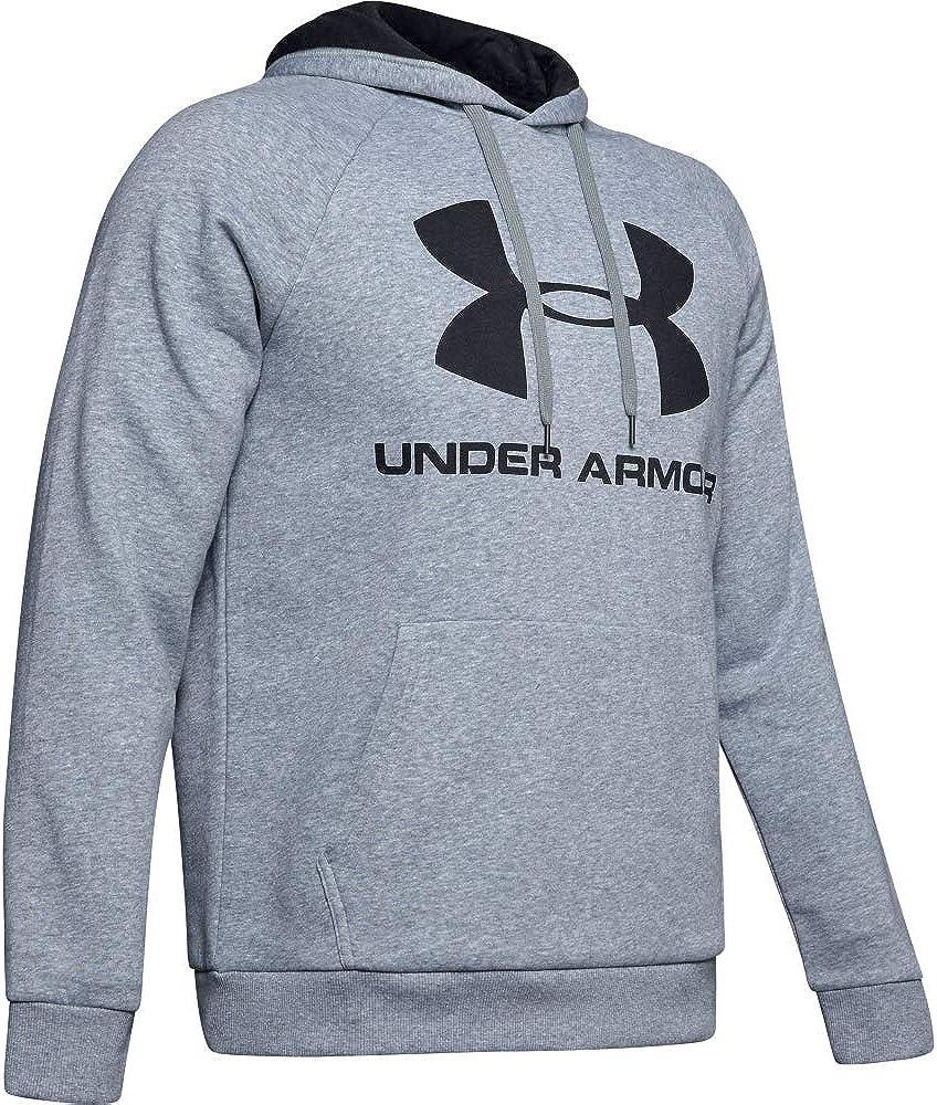 Under Armour Mens Rival Fleece Sportstyle Logo Hoodie
