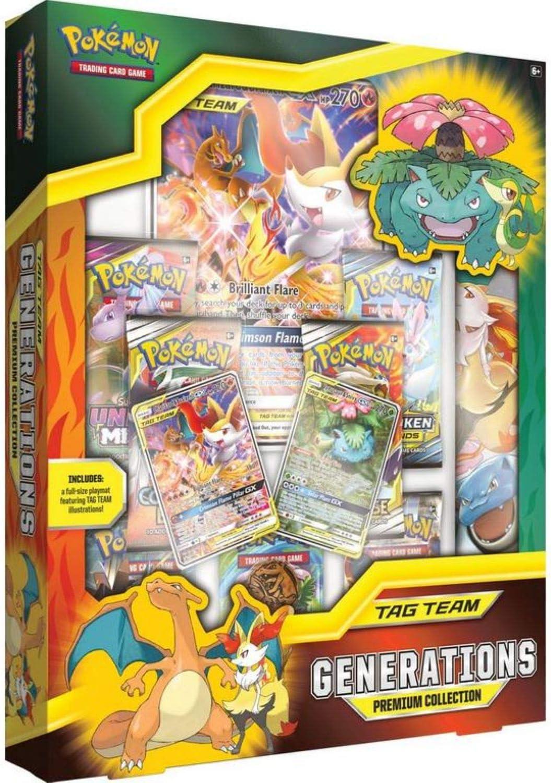 POK80420 TCG : TAG Team Generations Pok/émon Couleurs m/élang/ées Collection Premium