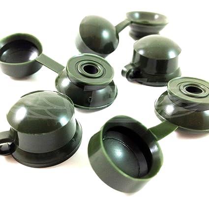 100, verde embellecedores tapas para tornillos - ONDULINE, COROLUX