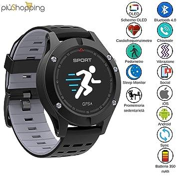 lemfo Smartwatch Reloj Deportivo Pantalla OLED táctil con ...