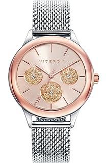 Viceroy Reloj Multiesfera para Mujer de Cuarzo con Correa en Acero Inoxidable 401036-97