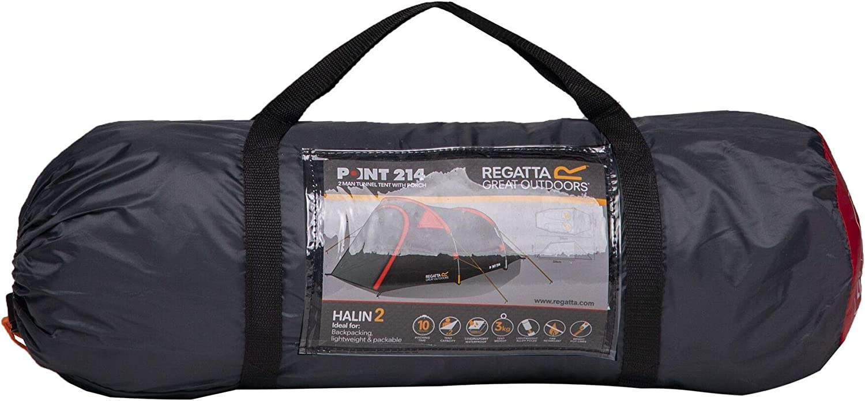 Regatta Halin 2 Man Lightweight Quick Pitch Dome Tent