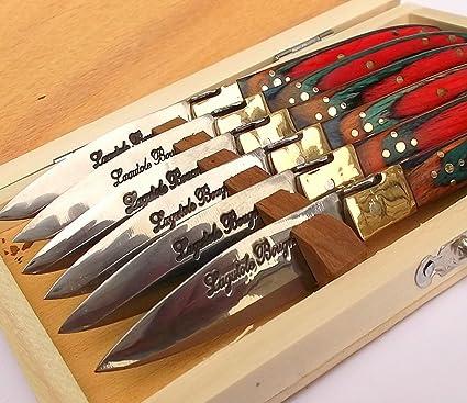 Laguiole 6450, Bougna rústico colección himry. 15 cm ...