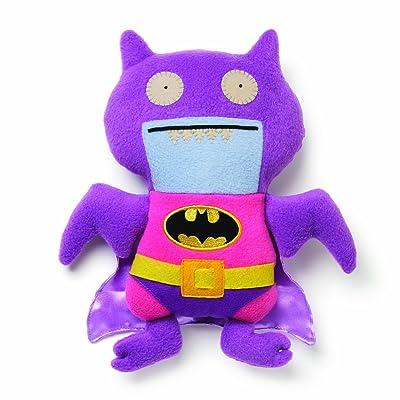 GUND Uglydoll DC Comics Pink/Purple Batman Plush: Toys & Games
