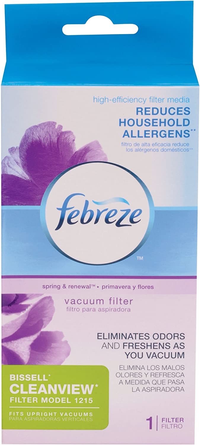 Bissell Febreze Style 1215 Upright Vacuum Post-Motor Pleated Filter