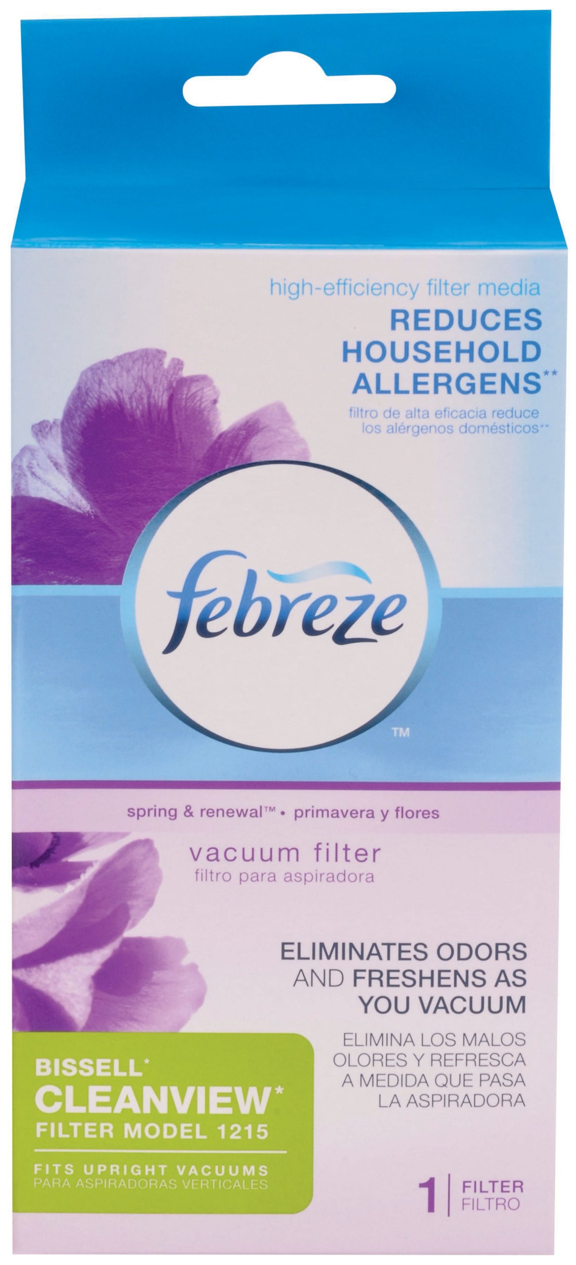 Bissell Febreze Style 1215 Upright Vacuum Post-Motor Pleated Filter by Bissell