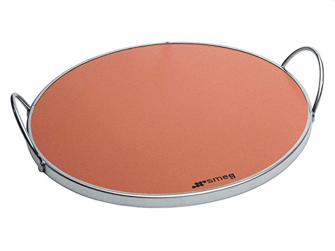 Smeg - Piedra Pizza Smeg Prtx, Para Horno: Amazon.es: Electrónica