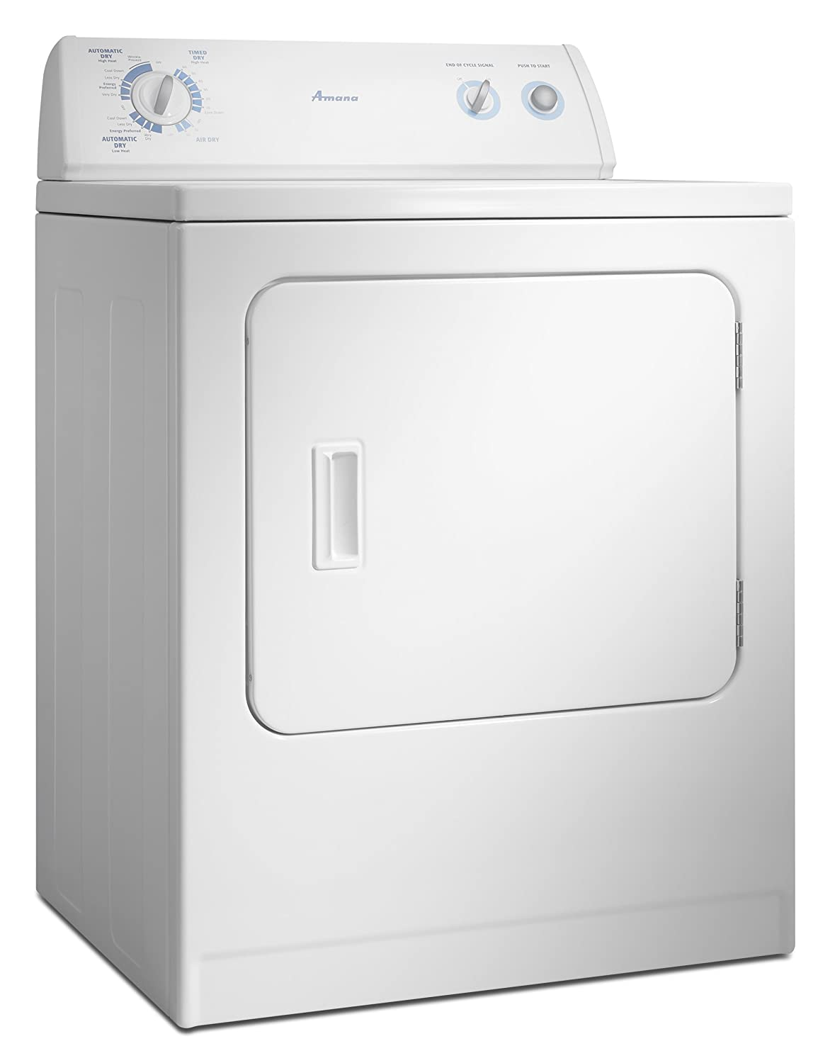 Amana 65 Cubic Foot Traditional Electric Dryer Diagram Color Also Electrical Wire Connections Besides Ned4500vq White Appliances