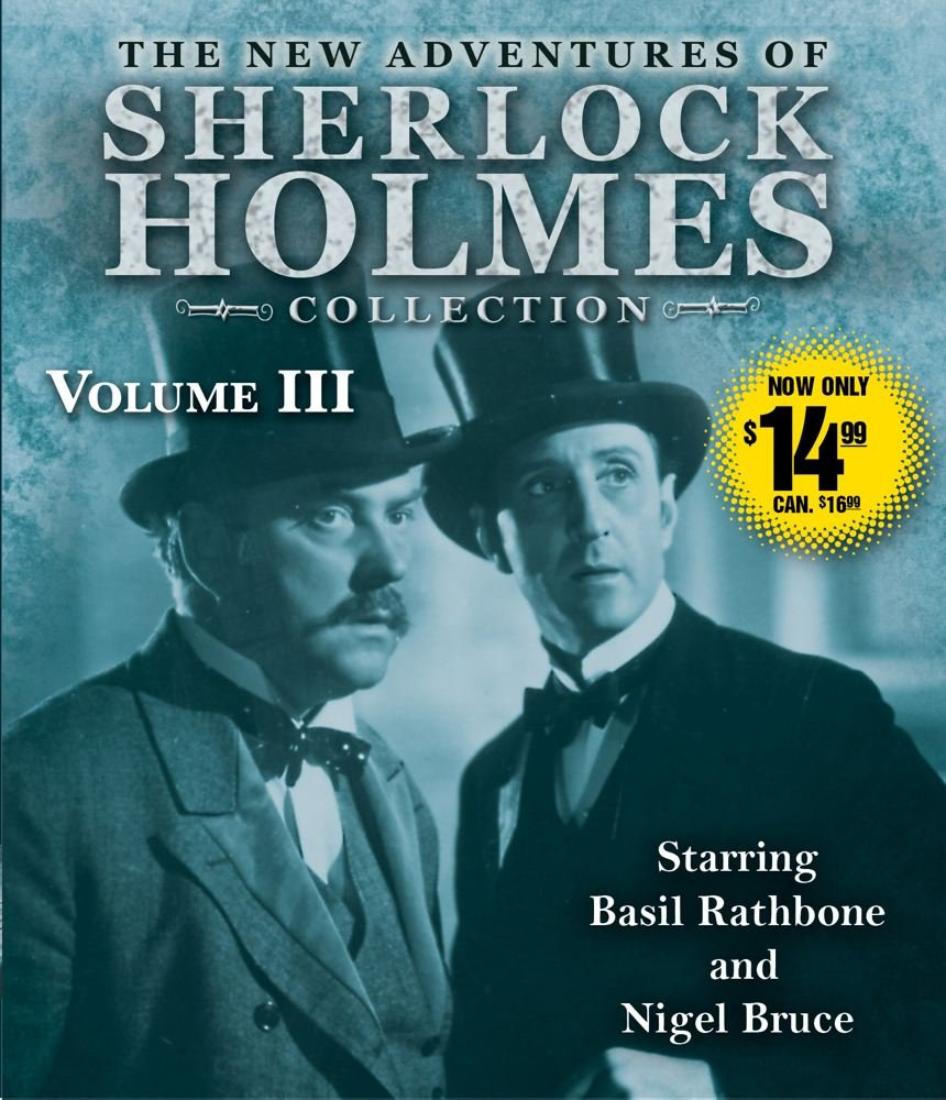 The New Adventures of Sherlock Holmes Collection Volume Three