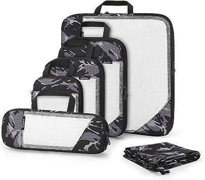 Gonex Organizador para Maletas Viaje Equipaje, Bolsas Cubos ...