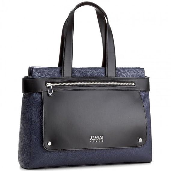 f068ff9e4c ARMANI JEANS BORSA DONNA BORSA SHOPPING 922248 7A790 blu: Amazon.it:  Abbigliamento