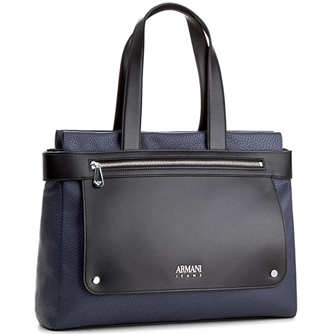 Armani Jeans Blu Abbigliamento Shopping 7a790 Donna Borsa it 922248 Amazon 4Hqnr4x