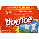 Bounce Fabric Softener Sheets, Outdoor Fresh, 240 Count - Pack of 2